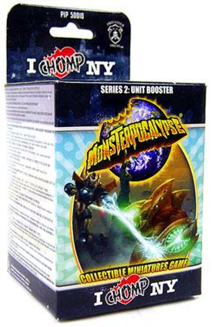 Monsterpocalypse Series 2 I Chomp NY Unit Booster Pack