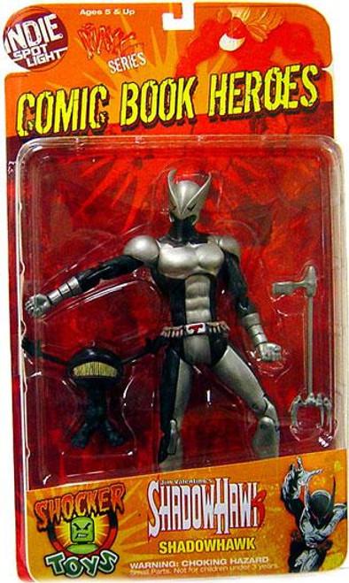 Comic Book Heroes Indie Spotlight Series 1 Shadowhawk Action Figure [Silver Armor]