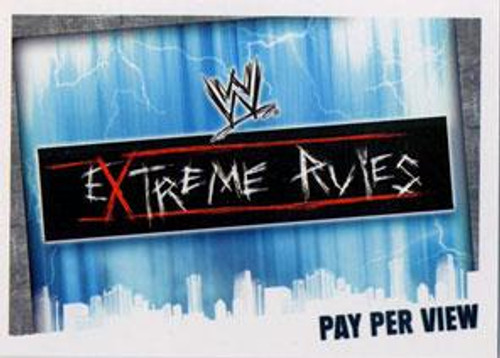 WWE Wrestling Slam Attax Evolution Series 1 Pay Per View Base Card Extreme Rules