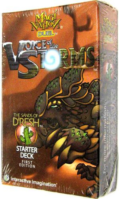 Magi Nation Duel Voice of the Storms D'Resh Starter Deck