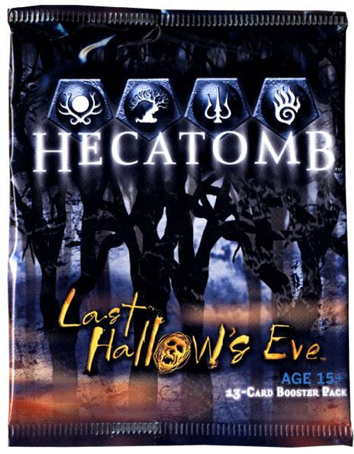 Hecatomb Trading Card Game Last Hallows Eve Booster Pack