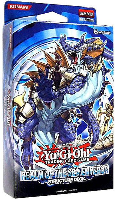 YuGiOh Structure Deck: Realm of the Sea Emperor Realm of the Sea Emperor Structure Deck [1st Edition] [Sealed Deck]