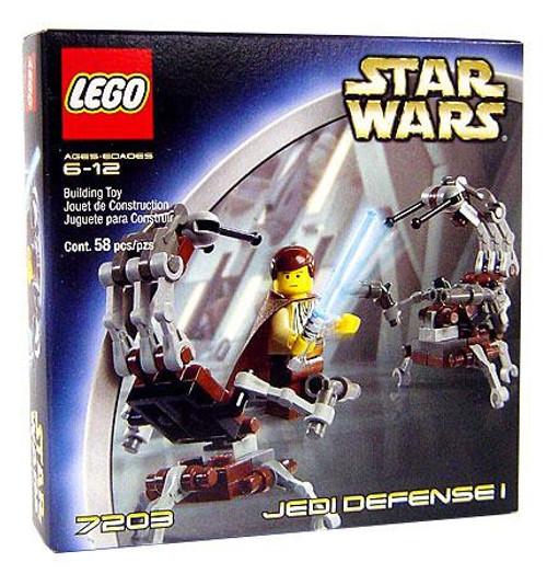 LEGO Star Wars The Phantom Menace Jedi Defense 1 Set #7203