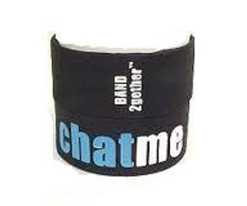 BAND2gether Bands Chat Me Rubber Bracelet