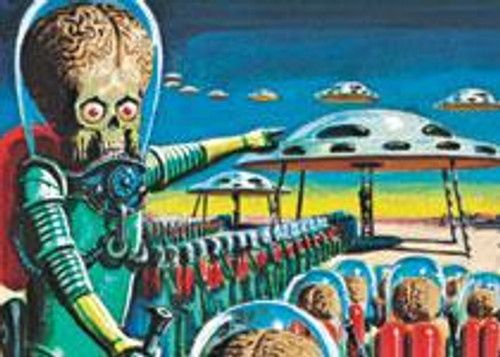 Heritage Mars Attacks Trading Card Set