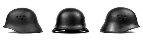 Amazing Armory JR-1 Helmet [Black]