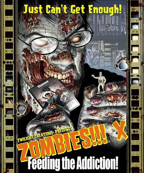 Zombies!!! X: Feeding the Addiction Board Game Expansion