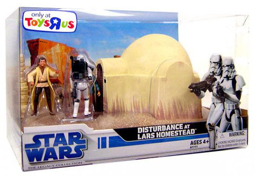 Star Wars A New Hope Boxed Sets 2008 Disturbance at Lars Homestead Exclusive Action Figure
