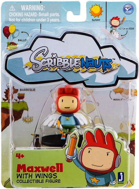 Scribblenauts Maxwell 2-Inch Mini Figure [With Wings]