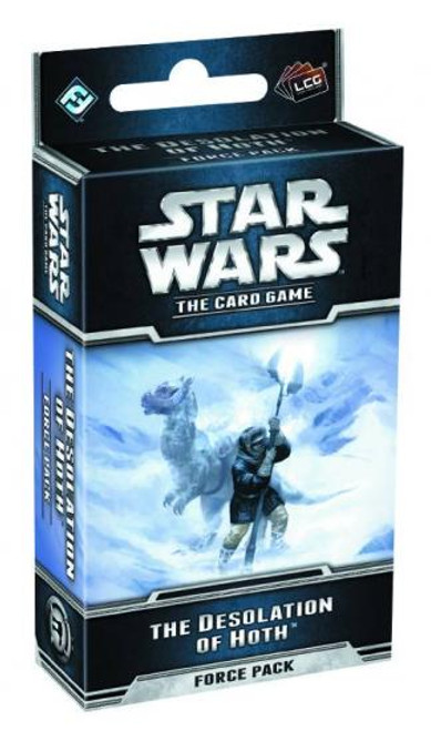 Star Wars The Card Game The Desolation of Hoth Force Pack