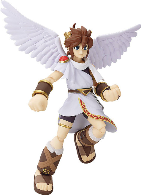 Kid Icarus Figma Pit Action Figure #175 [White]