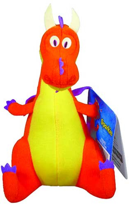 Fisher Price Mike the Knight Sparkie 6-Inch Plush