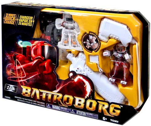Battroborg Red / White R/C Figure