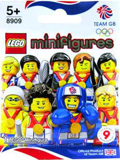 LEGO Minifigures Great Britain Olympic Team Olympic Great Britain Team Mystery Pack #8909