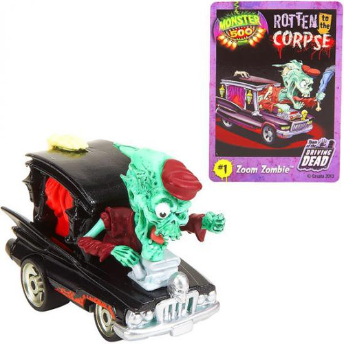 Monster 500 Small Car Zoom Zombie Vehicle Figure