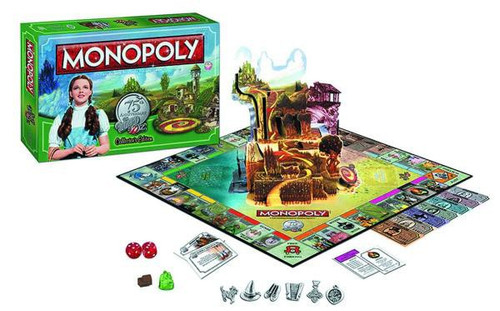 The Wizard of Oz Monopoly Board Game [75th Anniversary Edition]