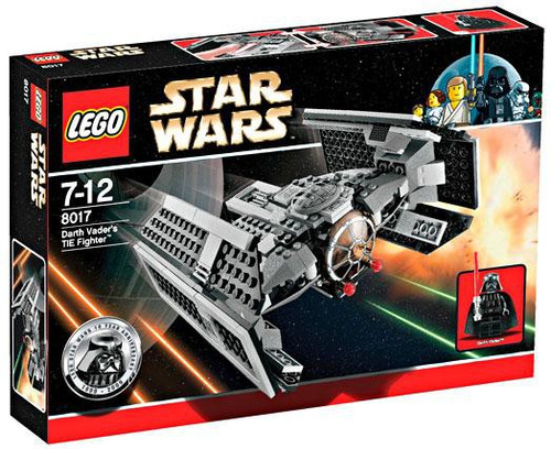 LEGO Star Wars A New Hope Darth Vader's TIE Fighter Set #8017