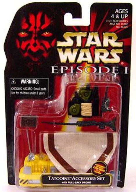 Star Wars The Phantom Menace Episode I Basic 1999 Tatooine Accessory Set Action Figure Accessory