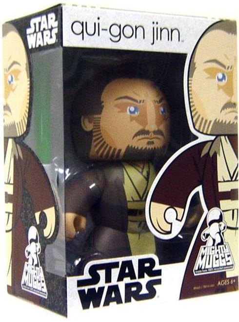 Star Wars The Phantom Menace Mighty Muggs 2009 Wave 1 Qui-Gon Jinn Vinyl Figure