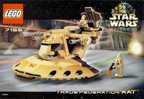 LEGO Star Wars The Phantom Menace Trade Federation AAT Set #7155
