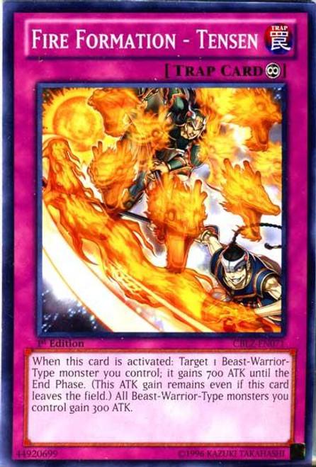 YuGiOh Zexal Cosmo Blazer Common Fire Formation - Tensen CBLZ-EN071
