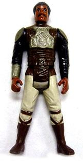 Star Wars Return of the Jedi Vintage 1982 Lando Skiff Guard Action Figure [Silver Armor, Loose Incomplete C-8]