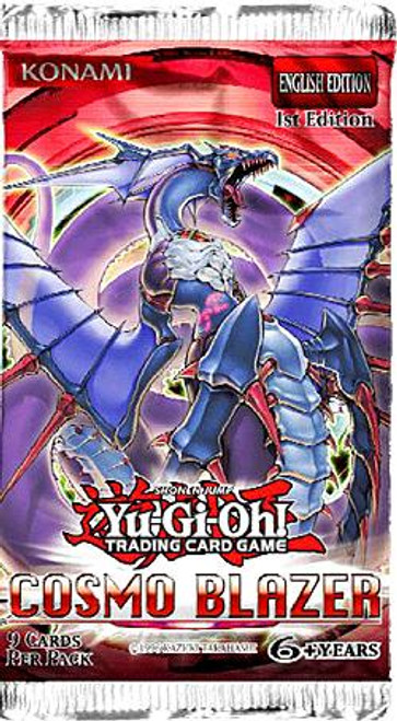 YuGiOh Cosmo Blazer Booster Pack [Sealed]