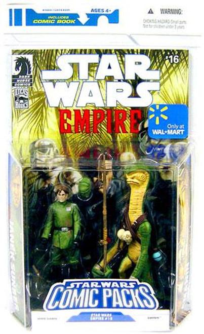 Star Wars Expanded Universe Comic Packs 2009 Janek Sunber & Amanin Exclusive Action Figure 2-Pack #16