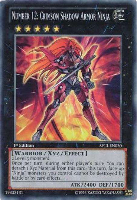 YuGiOh Star Pack 2013 Common Number 12: Crimson Shadow Armor Ninja SP13-EN030