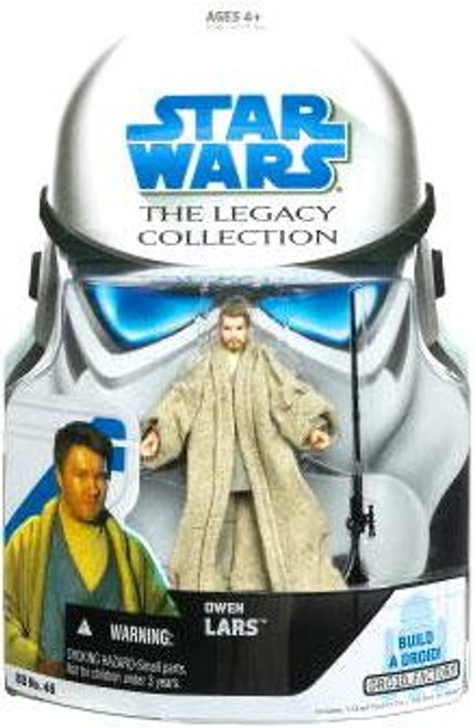 Star Wars Attack of the Clones Legacy Collection 2008 Droid Factory Owen Lars Action Figure BD46