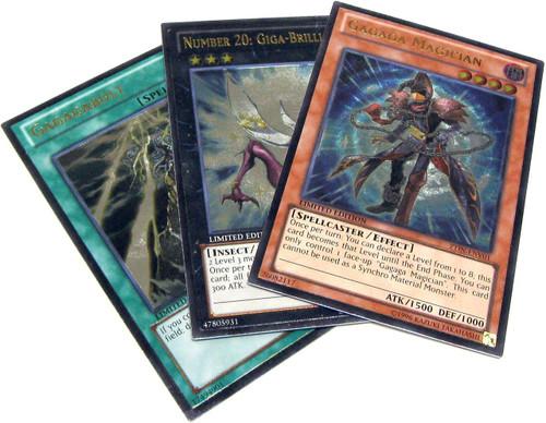 YuGiOh Zexal 2013 Collector Tin Set of 3 Ultimate Rare Ultimate Rare Single Cards