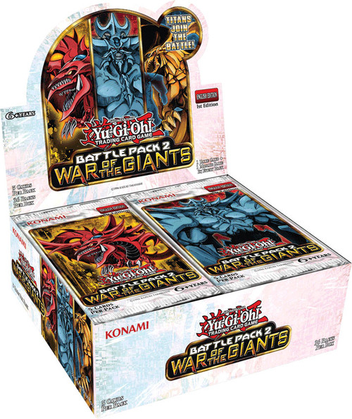 YuGiOh Battle Pack 2: War of the Giants Booster Box [36 Packs] [Sealed]