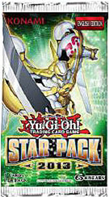 YuGiOh Star Pack 2013 Booster Pack [Unlimited Edition] [Sealed]