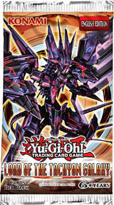 YuGiOh Lord of the Tachyon Galaxy Booster Pack [Sealed]