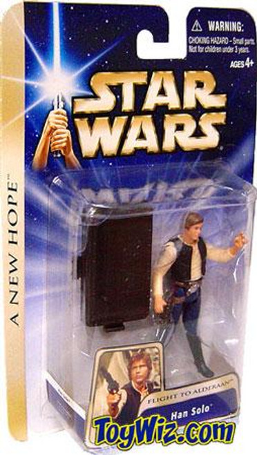 Star Wars A New Hope Basic 2004 Han Solo Action Figure [Flight To Alderaan]