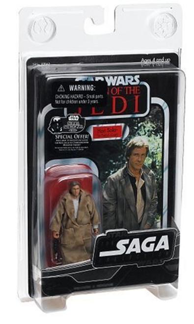Star Wars Return of the Jedi Saga Collection 2006 Vintage Endor Han Solo Action Figure