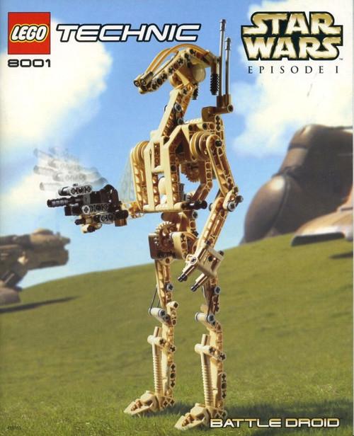 LEGO Star Wars The Phantom Menace Battle Droid Set #8001