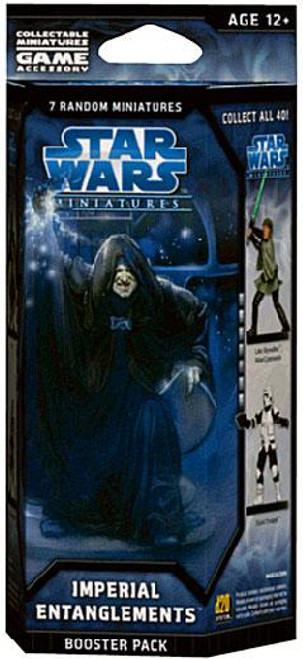 Star Wars Collectible Miniatures Game Imperial Entanglements Booster Pack