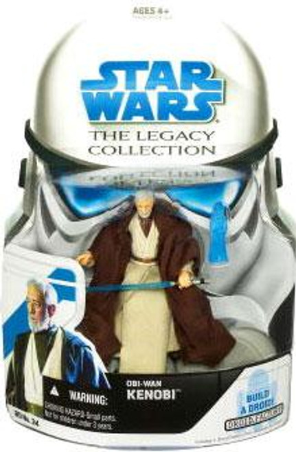 Star Wars A New Hope Legacy Collection 2008 Droid Factory Obi-Wan Kenobi Action Figure BD34 [Episode IV]