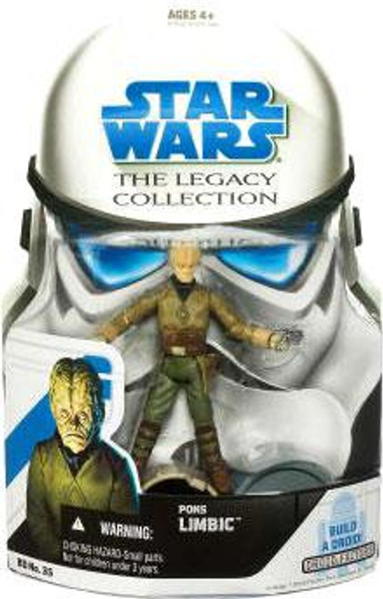 Star Wars A New Hope Legacy Collection 2008 Droid Factory Pons Limbic Action Figure BD35