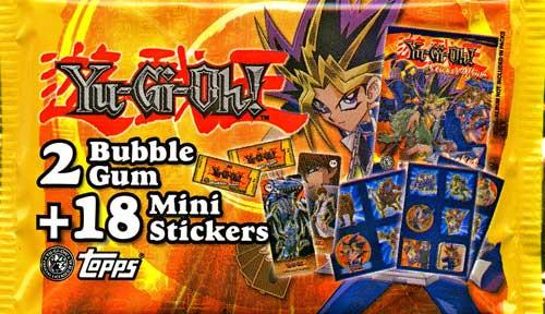 YuGiOh Pocket Collection Sticker Pack