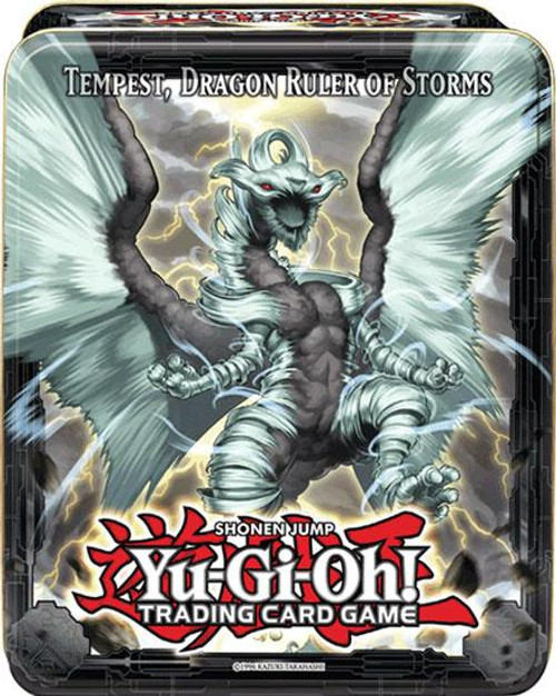YuGiOh 2013 Collector Tin Tempest, Dragon Ruler of Storms Collector Tin [Sealed]