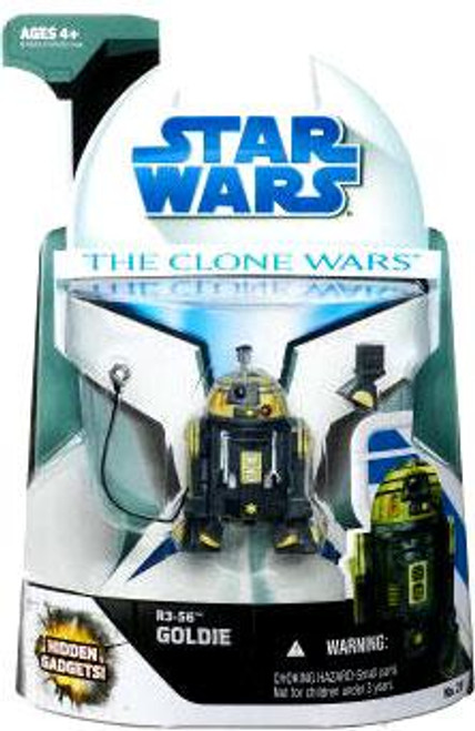 Star Wars The Clone Wars Clone Wars 2008 R3-SG Goldie Action Figure #23