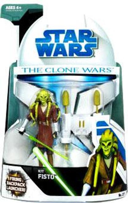 Star Wars The Clone Wars Clone Wars 2008 Kit Fisto Action Figure #27