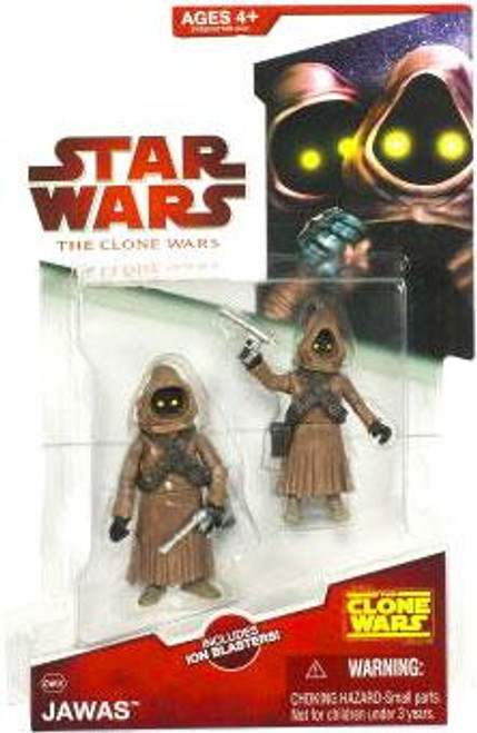 Star Wars The Clone Wars Clone Wars 2009 Jawas Action Figure 2-Pack CW08