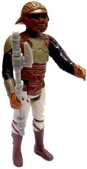Star Wars Return of the Jedi Vintage 1982 Lando Skiff Guard (Gray Chest Version) C-8 Complete Loose Action Figure [Gray Chest, Loose Complete C-8]