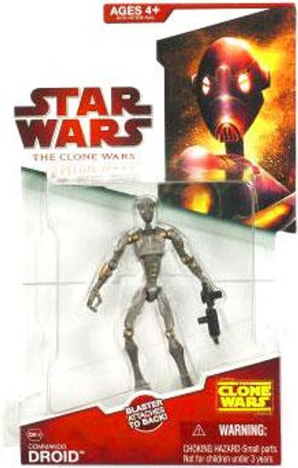 Star Wars The Clone Wars Clone Wars 2009 Commando Droid Action Figure CW-16CW16