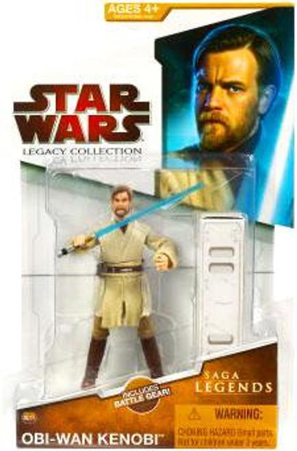 Star Wars Revenge of the Sith Legacy Collection 2009 Saga Legends Obi-Wan Kenobi Action Figure SL03