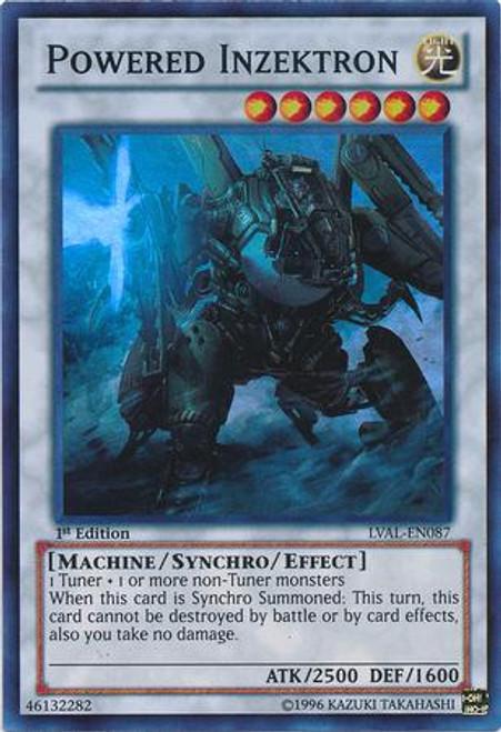 YuGiOh Zexal Legacy of the Valiant Super Rare Powered Inzektron LVAL-EN087