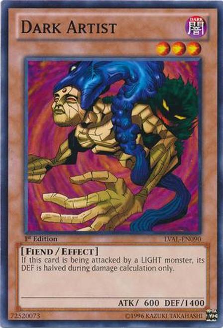 YuGiOh Zexal Legacy of the Valiant Common Dark Artist LVAL-EN090